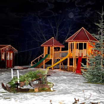 casa doamnei - iarna