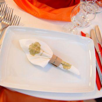 Aranjament masa restaurant casa doamnei